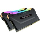 Corsair Vengeance RGB Pro 16GB DDR4 SDRAM Memory Module - For Desktop PC, Motherboard - 16 GB (2 x 8 GB) - DDR4-3600/PC4-28800 DDR4 SDRAM - CL18 - 1.35 V - 288-pin - DIMM