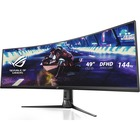 """Asus ROG Strix XG49VQ 49"""" Double Full HD (DFHD) Curved Screen WLED Gaming LCD Monitor - 32:9 - Black - 3840 x 1080 - 16.7 Million Colors - FreeSync 2 - 450 cd/m² Typical - 4 ms GTG - HDMI - DisplayPort"""