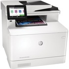 HP LaserJet Pro M479 M479fdn Laser Multifunction Printer - Color - Copier/Fax/Printer/Scanner - 28 ppm Mono/28 ppm Color Print - 38400 x 600 dpi Print - Automatic Duplex Print - 1200 dpi Optical Scan - 300 sheets Input - Gigabit Ethernet
