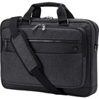 "HP Executive Carrying Case for 15.6"" HP Notebook - Gray - Shoulder Strap, Luggage Strap, Handle - 3.82"" (97.03 mm) Height x 16.34"" (415.04 mm) Width x 11.81"" (299.97 mm) Depth"