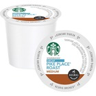 Starbucks Decaf Pike Place Coffee K-Cup - Decaffeinated - Pike Place, Latin America, Cocoa, Toasted Nut - Medium - Pod - 24 / Box