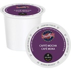 Timothy's Cafe Mocha Coffee K-Cup - Compatible with Keurig 2 Brewer - Cafe Mocha, Chocolate, Cocoa, Woodsy - Medium - Pod - 24 / Box