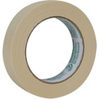 """Duck General Purpose Masking Tape - 60.1 yd (55 m) Length x 0.94"""" (24 mm) Width - 3"""" Core - Crepe Paper - Adhesive, Heavy Duty, Long Lasting - 1"""