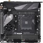 Aorus Ultra Durable X570 I AORUS PRO WIFI Desktop Motherboard - AMD Chipset - Socket AM4 - 64 GB DDR4 SDRAM Maximum RAM - DIMM, UDIMM - 2 x Memory Slots - Gigabit Ethernet - Wireless LAN - IEEE 802.11 a/b/g/n/ac/ax - 6 x USB 3.1 Port - HDMI - 1 x RJ-45 -