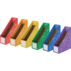 Fellowes Classroom Magazine File - Assorted - 6 / Pack