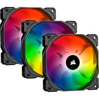 Corsair iCUE SP120 RGB PRO Cooling Fan - 3 Pack - 120mm - 1472.5 L/min - 26 dB(A) Noise - Hydraulic Bearing - RGB LED
