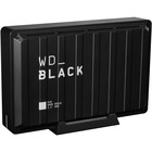 WD Black D10 WDBA3P0080HBK 8 TB Desktop Hard Drive - External - Black - Gaming Console, Desktop PC Device Supported - USB 3.2 - 7200rpm - 3 Year Warranty