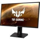 "TUF VG27BQ 27"" WQHD LED Gaming LCD Monitor - 16:9 - Black - Twisted nematic (TN) - 2560 x 1440 - 16.7 Million Colors - G-sync - 350 cd/m² Maximum - 400 µs - 120 Hz Refresh Rate - 2 Speaker(s) - HDMI - DisplayPort"
