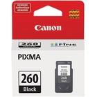 Canon PG-260 Ink Cartridge - Black - Inkjet - 1 Pack