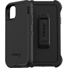 OtterBox Defender Carrying Case (Holster) Apple iPhone 11 Smartphone - Black