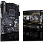TUF B450-PRO GAMING Desktop Motherboard - AMD Chipset - Socket AM4 - 64 GB DDR4 SDRAM Maximum RAM - DIMM, UDIMM - 4 x Memory Slots - Gigabit Ethernet - 1 x USB 3.0 Port - 4 x USB 3.1 Port - HDMI - DVI - 1 x RJ-45 - 6 x SATA Interfaces