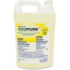 Ecopure EP50 Cleaner Disinfectant - Liquid - 4 L - 1 Each - Yellow