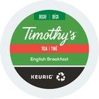 Timothy's Tea K-Cup - Decaffeinated, Black Tea - English Breakfast - 24 / Pack
