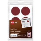 Avery® Security Seal - Red - 60 / Pack