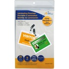"""Royal Sovereign Laminating Pouch - Sheet Size Supported: 0.20"""" (5 mm) Thickness - Laminating Pouch/Sheet Size: 3.75"""" Width196.85 mil Thickness - for ID Card, Business Card - Wear Resistant, Tear Resistant, Transparent, Flexible - Clear - 25 / Pack"""