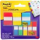 """Post-it® Flag - 36, 100 - 1"""", 0.47"""" - Sticky, Removable, Adhesive - 136 / Pack"""