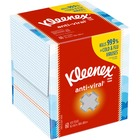 Kimberly-Clark Facial Tissue - 3 Ply - White - Soft, Anti-viral - For Face, Office Building, School, Dental Clinic, Restaurant Quantity Per Box - 60 / Box