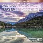 At-A-Glance Canadian Landscapes Wall Calendar - Monthly - 1.3 Year - September till December - 1 Month Double Page Layout - Stapled - Wall Mountable - Paper - Full-Color Scenic Photos, Dated Planning Page, Planning Matrix, Printed, Unruled Daily Block, Ho