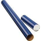 "Staedtler Telescopic Drafting Tube - Shipping - 2 3/8"" Width x 2 3/8"" Length - Twist Lock - Cardboard, Metal - Blue"