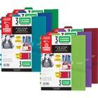 "Five Star Notebook Pocket Divider - 0.1"" Thickness - 9 3/16"" x 11 7/16"" Sheet - Ring Binder - Rectangular - Assorted - 3 / Pack"
