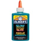 Elmers Glow In The Dark Pourable Glue - Art, Craft, Project, Classroom Activities - Recommended For - Blue
