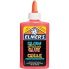 Elmers Glow In The Dark Pourable Glue - School Project, Craft Project, Classroom Activities - Recommended For - Pink