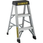 "Louisville Ladder - 136.08 kg Load Capacity - 16.63"" (422.28 mm) x 7.31"" (185.74 mm) x 23.38"" (593.73 mm) - Multi"