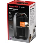Honeywell HeatGenius Ceramic Multizone Heater - Ceramic - Electric - Electric - 1.50 kW - 6 x Heat Settings - 1500 W - Bedroom - Black