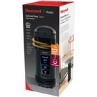 Honeywell EnergySmart Surround Ceramic Heater - Electric - Electric - 900 W to 1.50 kW - 2 x Heat Settings - 1500 W - 120 V AC - 12.50 A - Black