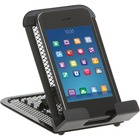"Rolodex Multi Purpose Holder - 5.04"" (128.02 mm) x 1.54"" (39.12 mm) x 3.35"" (85.09 mm) - Metal - 1 Each - Black"