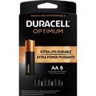 Duracell Optimum Battery - For General Purpose - AA - Alkaline - 8 / Pack