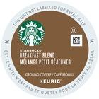 Starbucks Breakfast Blend Coffee K-Cup - Caffeinated - Breakfast Blend, Bright Citrus - Medium - Kosher - 24 / Box