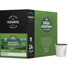 Green Mountain Coffee Dark Magic Coffee K-Cup - Compatible with Keurig K-Cup Brewer - Caffeinated - Dark Magic, Chocolate, Dried Fruit, Arabica - Extra Bold/Dark - Kosher - 24 / Box