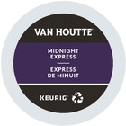 VAN HOUTTE Midnight Express Coffee Recyclable K-Cup - Compatible with Keurig K-Cup Brewer - Fruity, Midnight Express - Dark - 24 / Box