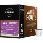 VAN HOUTTE Coffee K-Cup - Sumatra Fair Trade - Extra Bold/Dark - Organic - 24 / Box