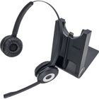 Jabra Headset - Stereo - Wireless - DECT - 395 ft - Over-the-head - Binaural - Black