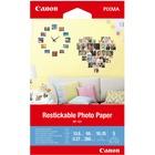 "Canon Photo Paper - 4"" x 6"" - 260 g/m² Grammage - Matte - 5 Sheet"