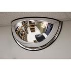 """Safety Zone Mirror - Half-dome18"""" Diameter"""