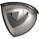 "Safety Zone Mirror - Quarter-dome48"" Diameter - Black"
