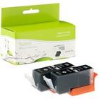 fuzion Ink Cartridge - Alternative for Canon PGI225 - Black - Inkjet - 340 Pages (Per Cartridge) - 2 / Pack