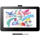 "Wacom One Pen Display - Graphics Tablet - 13.3"" Cable - 4096 Pressure Level - Pen - HDMI - Mac, PC"