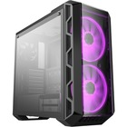 """Cooler Master MasterCase H500 ARGB - Mid-tower - Iron Gray - Steel, Plastic, Mesh, Tempered Glass - 4 x Bay - 3 x 4.72"""" (120 mm), 7.87"""" (200 mm) x Fan(s) Installed - 0 - Mini ITX, Micro ATX, ATX, SSI CEB, EATX Motherboard Supported - 6 x Fan(s) Supported"""