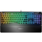 SteelSeries Apex 3 Water Resistant Gaming Keyboard - Cable Connectivity - USB Interface - English (US) - Windows, Mac OS - Black