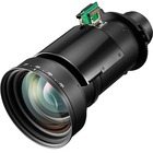"""NEC Display NP46ZL - 21.8 mm to 49.8 mm - f/2.18 - 2.66 - Short Throw Zoom Lens - Designed for Projector - 2.3x Optical Zoom - 9.07"""" (230.38 mm)Length - 4.71"""" (119.63 mm)Diameter"""