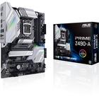 Asus Prime Z490-A Desktop Motherboard - Intel Chipset - Socket LGA-1200 - 128 GB DDR4 SDRAM Maximum RAM - DIMM, UDIMM - 4 x Memory Slots - Gigabit Ethernet - 6 x USB 3.1 Port - HDMI - 1 x RJ-45 - 6 x SATA Interfaces