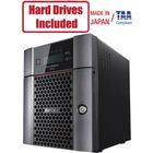 Buffalo TeraStation 6400DN 8TB (2 x 4TB) Desktop NAS Hard Drives Included + Snapshot - Intel Atom C3538 Quad-core (4 Core) 2.10 GHz - 4 x HDD Supported - 2 x HDD Installed - 8 TB Installed HDD Capacity - 8 GB RAM DDR4 SDRAM - Serial ATA/600 Controller - R
