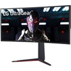"LG UltraGear 34GN850-B 34"" UW-QHD Curved Screen Gaming LCD Monitor - 21:9 - Black, Red"