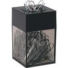 Westcott Smoke Bottom Paper Clip Dispenser