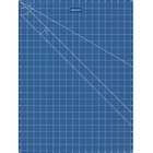 """Acme United 18""""x24"""" Double Sided Blue Cutting Mat"""