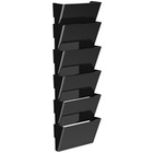 Storex Snap and Stack Wall Pockets Files, Legal